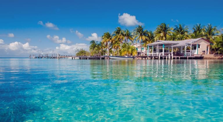 La mer au Belize