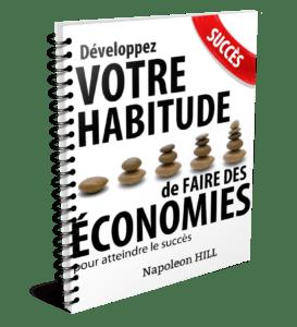 développer l'habitude de faire des économies