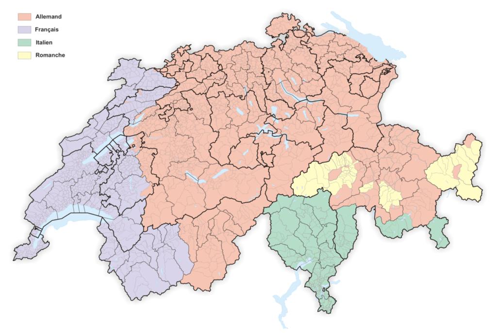 travailler en Suisse et vivre en France - Impact des langues étrangères