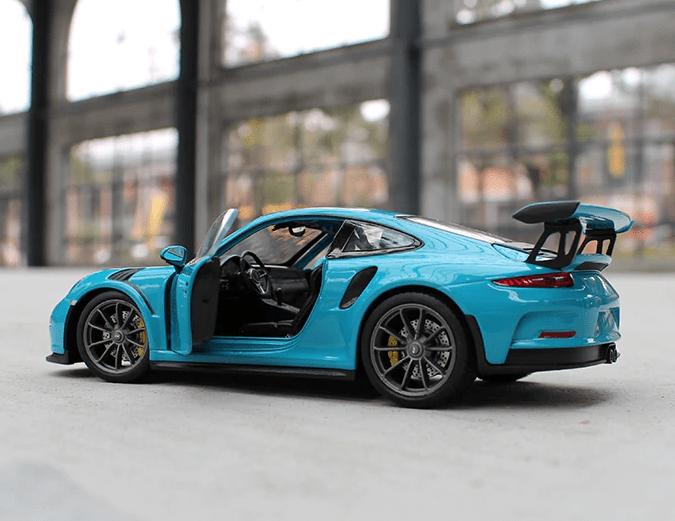 Porsche modèle à l'échelle