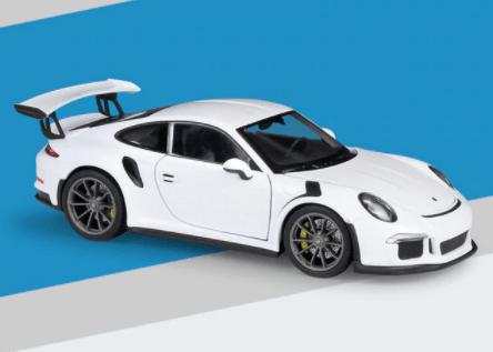 Porsche 911 GT3 RS blanche