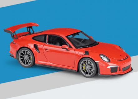 Porsche 911 GT3 RS miniature rouge