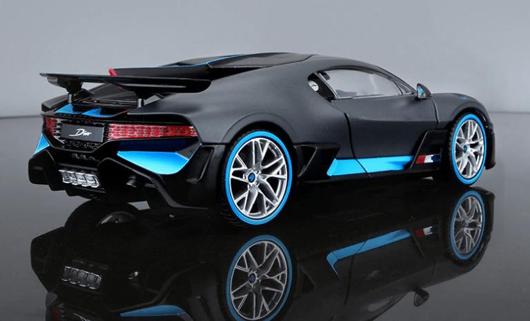 Bugatti Divo miniature 1:24