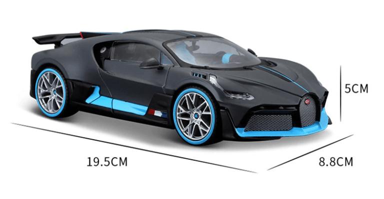 Bugatti Divo miniature