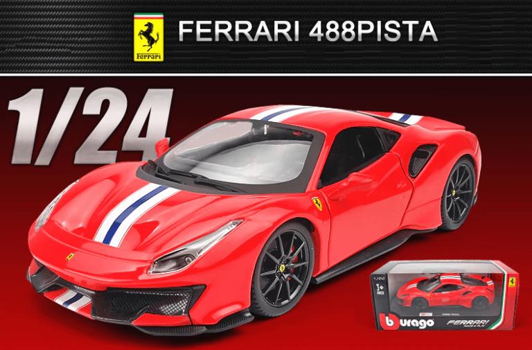 Ferrari 488 Pista miniature