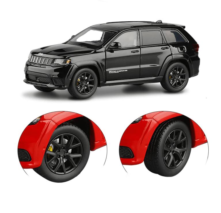détails de la Jeep Grand Cherokee modèle réduit