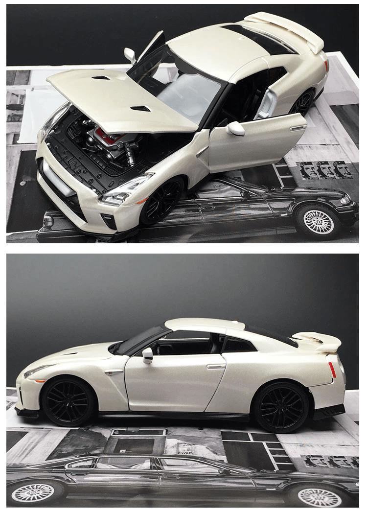 Nissan GTR miniature